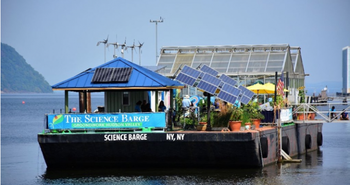 Science barge