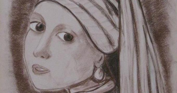 """The Pearl"" by Jaisa Gutierrez. Oil. 18""x24"""