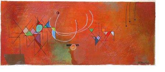 Nat Shapiro painting / Remrmbrance