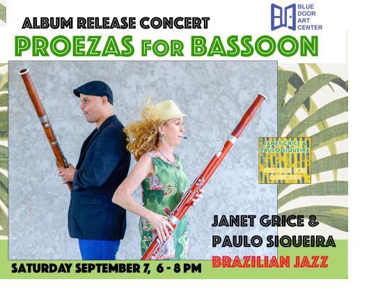 Janet Grice & Paulo Siqueira, Brazilian Jazz Album Release Concert