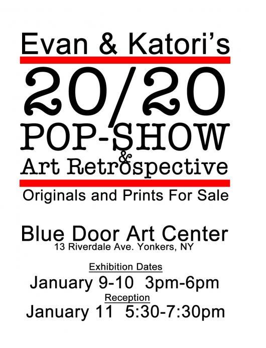 Katori and Evan 20/20 Pop-Show & Retrospective