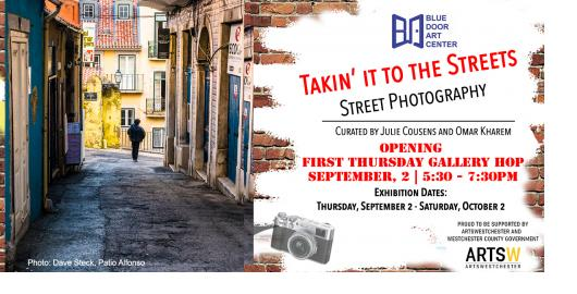 Gallery Hop Opening Takin' It to the Streets