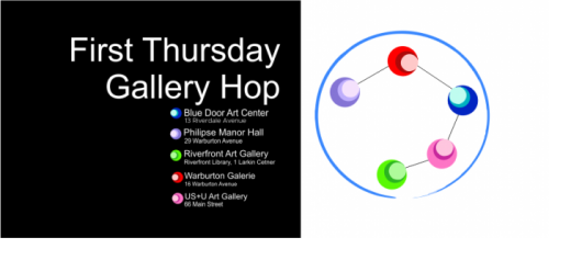 First Thursday Yonkers Gallery Hop Flyer