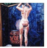 Syd Hertz - Girl Bathing 16x20