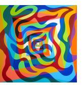 Swirling Octagon Vortex